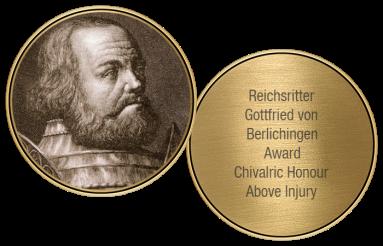 Gottfried von Berlichingen Award in Bronze