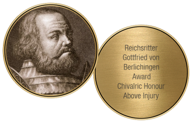 Gottfried von Berlichingen Award in Bronze